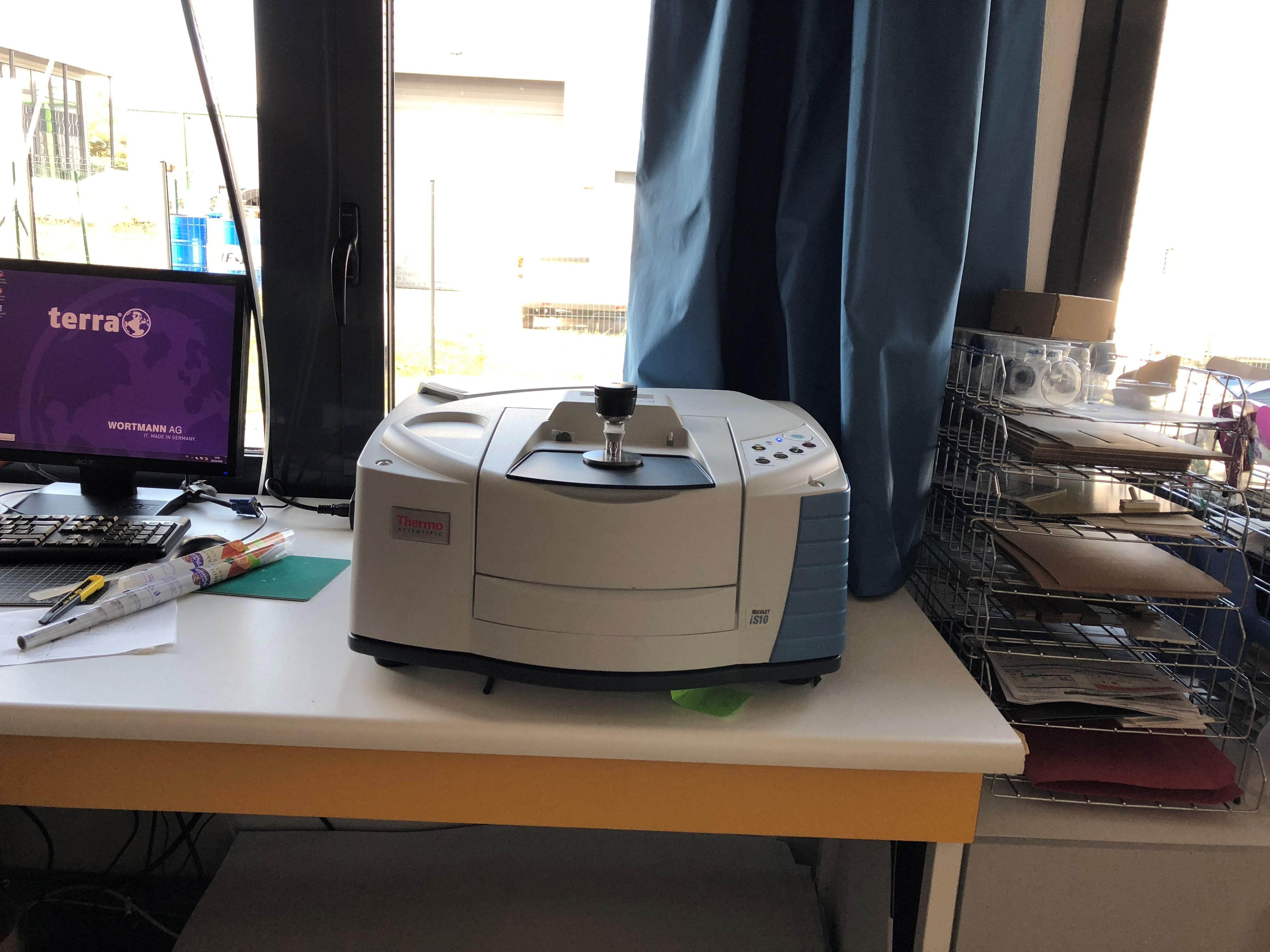 spectrophotomètre